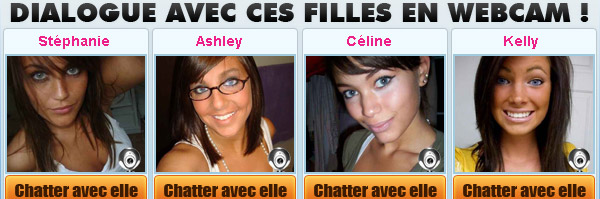 Dialogue filles en webcam